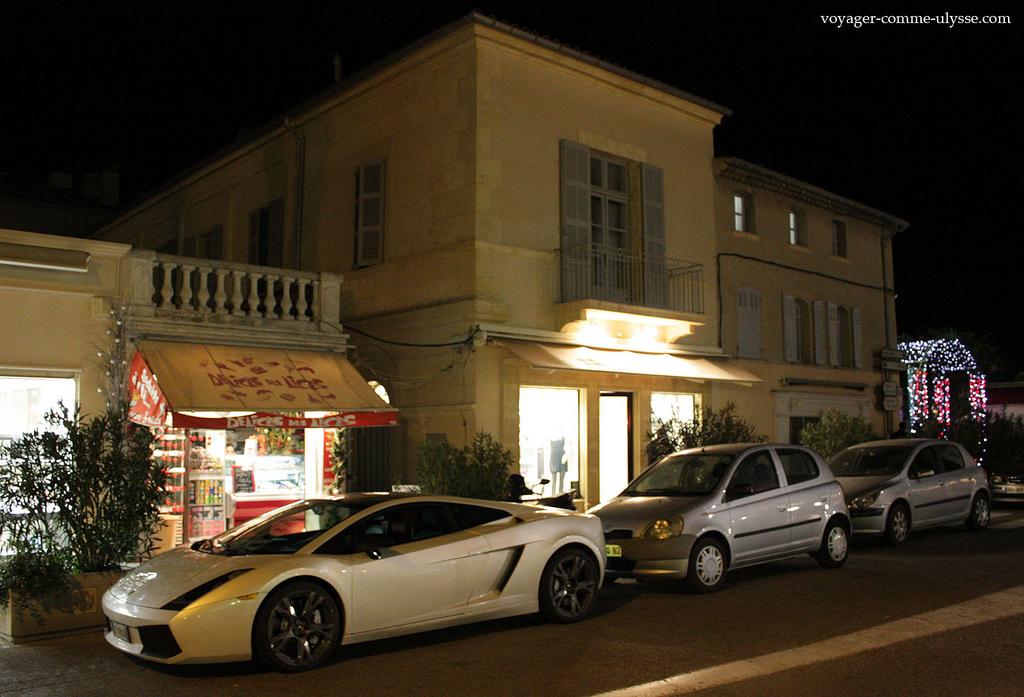 Gallardo w Saint Tropez - by joriavlis