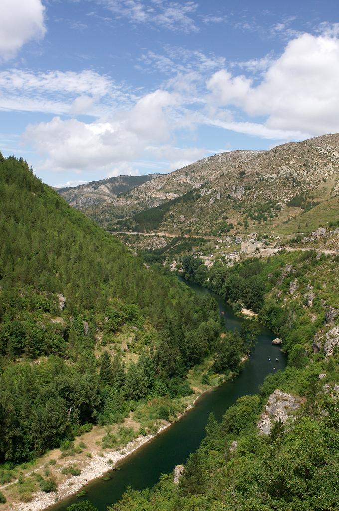 Gorge du tarn - Francja - by curium
