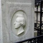Grób Chopina - Cmentarz Pere Lachaise - Paryż - Francja - by John Althouse Cohen