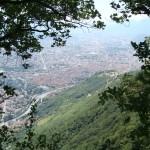 Grenoble - widok miasta z góry - by cotitoo