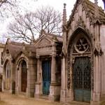 Grobowce - Cmentarz Pere Lachaise - Paryż - by Supern4ut