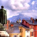 Jeden z pomnikó w mieście Chambery we Francji - by 6ril