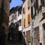 Jedna z ulic miasta Vence - by j whiteman