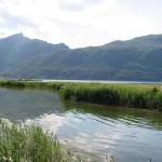 Jezioro Bourget w okolicach Chambery we Francji - by Antoine Hubert