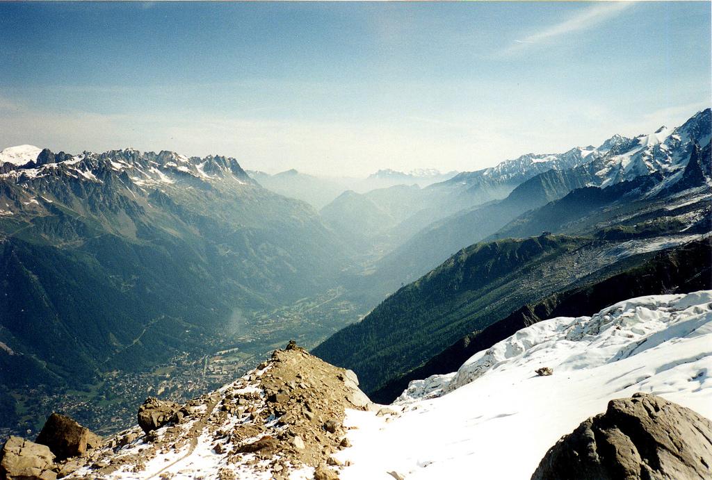 Krajobraz Alp Francuskich w okolicach Chamonix -  by twiga269 ॐ FreeTIBET