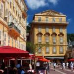 Malonicze domy - kamienice w Nicei - by RebecaAR