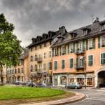 Miasto Chambery na południu Francji - by Eric lecaroubier