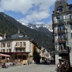 Miasto Chamonix - Alpy Francuskie - by Nouhailler