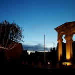 Miasto Grasse nocą - by koalie