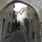 Miateczko Saint Paul de Vence - Francja -  by Britrob