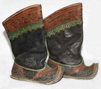 Mongolskie buty męskie
