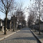 Na cmentarzu Pere Lachaise w Paryżu - by drayton in brooklyn
