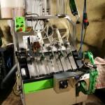 Maszyna do nabijania szampana w butelki