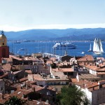 Panorama Miasta Saint Tropez - by Zoé de Saint-Tropez
