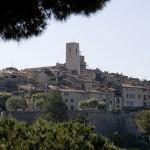 Panorama miasteczka Saint Paul de Vence - by Nathan Rawlins