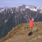 Paralotniarze w Chamonix by Trent Strohm