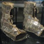 Peruwiańskie buty wykonane między XII a XV wiekiem - pochodzą z cywilizacji (kultury) Chimu