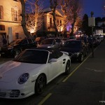 Porsche z Saint Tropez -  by joriavlis