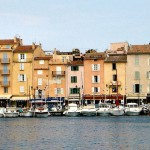 Port w Saint Tropez - by Bas van Gaalen