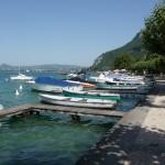 Przystań jachtowa - jezioro Annecy - Francja - by Nouhailler