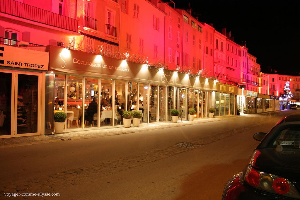 Restauracja w Saint Tropez - by joriavlis