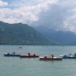 Rowerki wodne - jezioro Annecy - by dancetechtv