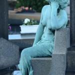 Rzeźba pomnik - Pere Lachaise - Paryż - by Guillaume Lavaud PHOTO