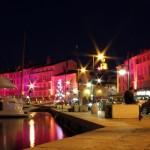 Saint Tropez nocą - Lazurowe Wybrzeże - Francja - by joriavlis