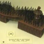 Sandały Indyjskiego Fakira z XIX wieku - Muzeum Romans - Francja