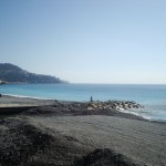 Stojąc przy brzegu morza w Nicei - by HGruber