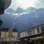 Widok gór z Chamonix - by Nouhailler