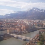 Widok miasta Grenoble - by bertishki
