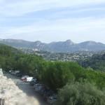 Widok na góry z miasteczka Saint Paul de Vence - by Britrob