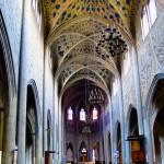 Wnętrze katedry w Chambery - by Federico Coppola