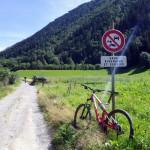 Wycieczka rowerowa w okolicach Chamonix - by chrisjbarker