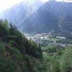 Zieleń Chamonix w Alpach - by eGuide Travel