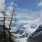 Zimowy krajobraz gór w Chamonix - by edwin.11