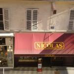 Nicolas - sklep z winami w Paryżu - by @rgs