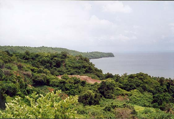 Wyspa Majotta - Widok Wybrzeża