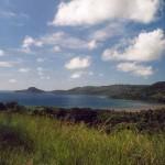 Wyspa Mojotta na Oceanie Indyjskim obok Madagaskaru